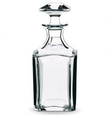 Baccarat Perfection Barware Whisky Decanter Square